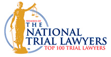 Top 100 Trial Lawyers Wide Logo